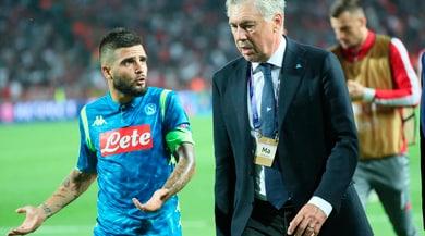 Napoli, Ancelotti: «Persi 2 punti ma non dobbiamo essere negativi»