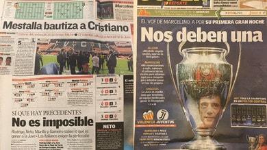 Valencia-Juve, rassegna stampa: «Il Mestalla battezza Ronaldo»