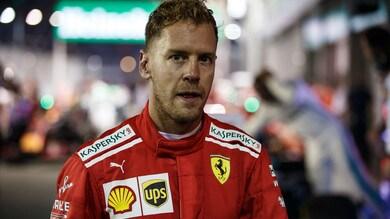 F1 Ferrari, Vettel: «Continuerò a combattere per il titolo»