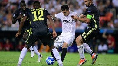 Champions League, Valencia-Juventus 0-2. Il tabellino