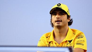 F1 Renault, Sainz: «Avere un contratto biennale mi dà stabilità e sicurezza»