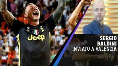 """Valencia-Juventus, Baldini: """"Prova di maturità e personalità"""""""