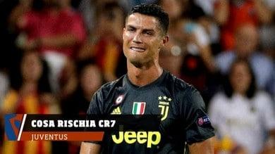 Juventus, Ronaldo espulso: ecco cosa rischia