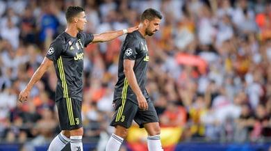 Juventus, per Khedira distrazione ai flessori della coscia sinistra