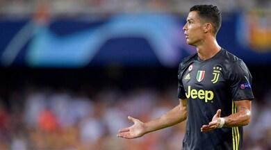 Juventus, Cristiano Ronaldo: si va verso una giornata di stop