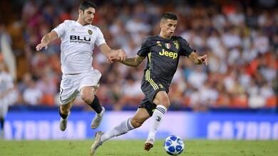 Cancelo ha stregato la Juventus: prova di forza a Valencia