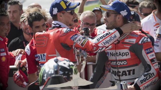 MotoGp Aragon - Lorenzo e Dovizioso all'assalto di Marquez