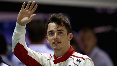 F1, primi giri sulla Ferrari per Leclerc
