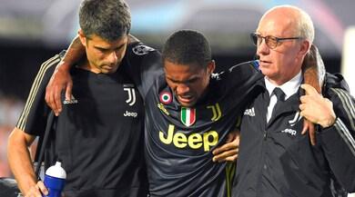 Juventus, Douglas Costa fuori per 3-4 settimane