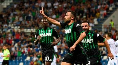 Serie A, Sassuolo-Empoli 3-1: Boateng, Ferrari e Di Francesco rispondono a Caputo