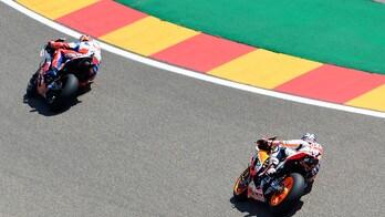 MotoGp Aragon, griglia di partenza: Lorenzo in pole, Rossi 18°