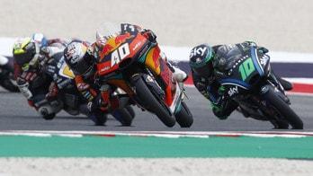 Moto2 Aragon, Binder si prende la pole, Bagnaia è 5°
