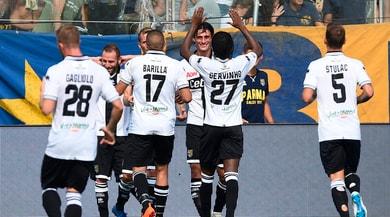 Parma, Inglese-Gervinho show. Cagliari ko