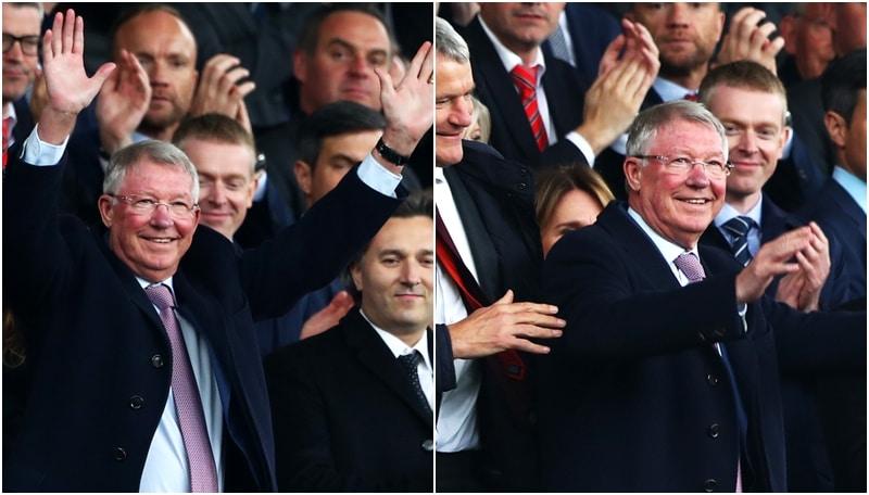 Ferguson torna all'Old Trafford: l'accoglienza è da brividi