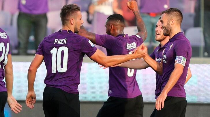 Fiorentina-Spal 3-0: prima rete in Serie A per Pjaca