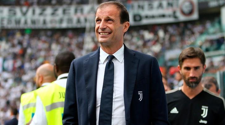 Frosinone-Juventus, la probabile formazione di Allegri