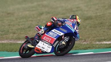 Moto3 Aragon, Martin vince e allunga, rimonta Bezzecchi: è 2°