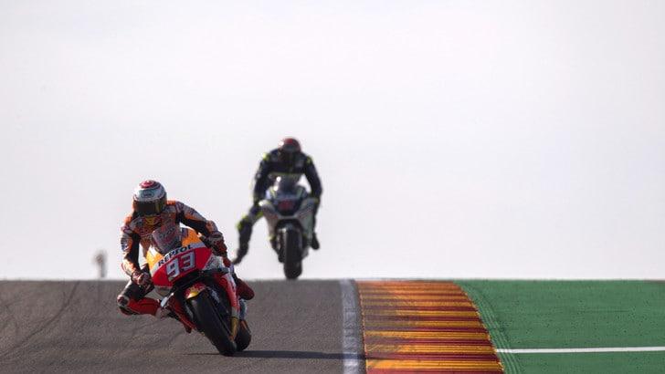 MotoGp Aragon: Marquez vince e allunga. Dovizioso è 2°