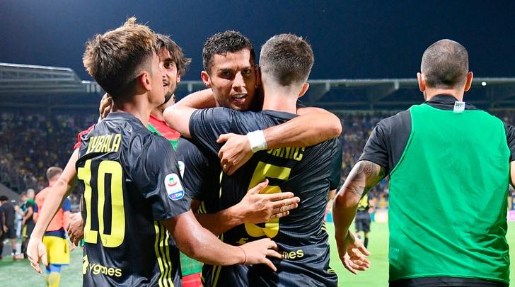 Frosinone-Juventus 0-2: ci pensano Cristiano Ronaldo e Bernardeschi