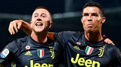 Juventus, Cristiano Ronaldo si vendica: fabbrica di gol