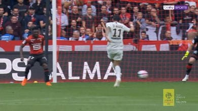 Rennes-PSG 1-3, gli highlights