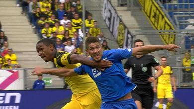 Hoffenheim-Borussia Dortmund 1-1, gli highlights