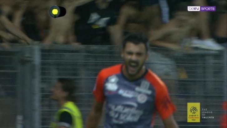 Montpellier-Nizza 1-0, gli highlights