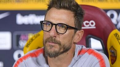Serie A, la Roma rischia Di Francesco: esonero a 2,50