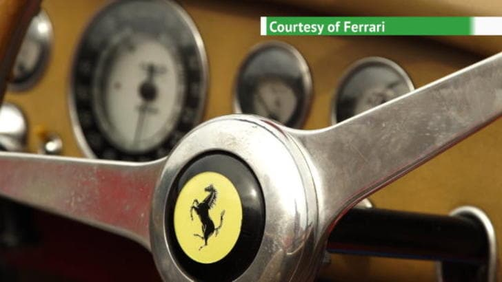 Ferrari Cavalcade Classiche, la Sardegna si tinge di Rosso