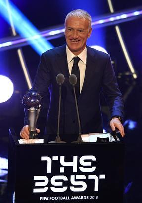 Fifa Award, Deschamps miglior allenatore