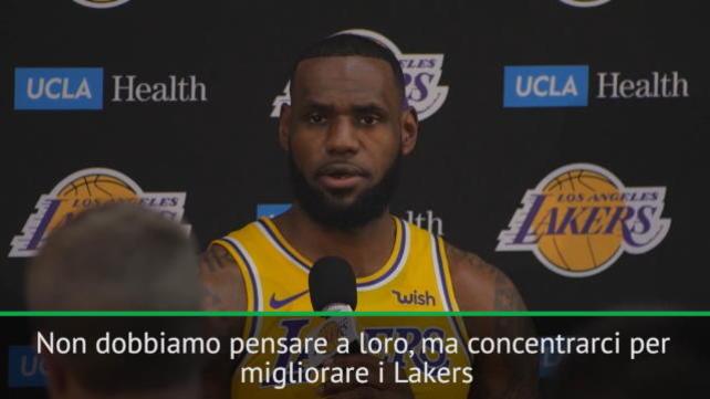 """LeBron: """"LA non è al livello di Golden State"""""""