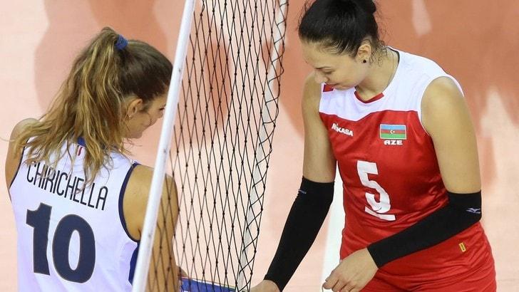 Volley: l'Italia di Mazzanti batte l'Azerbaijan in amichevole