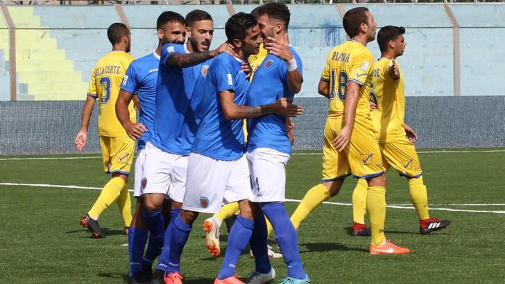 Serie C, Siracusa-Paganese 3-1. Doppio Vazquez e Catania regolano i campani