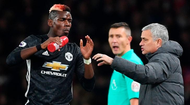 United, la bomba dall'Inghilterra:«Mourinho toglie la fascia a Pogba»