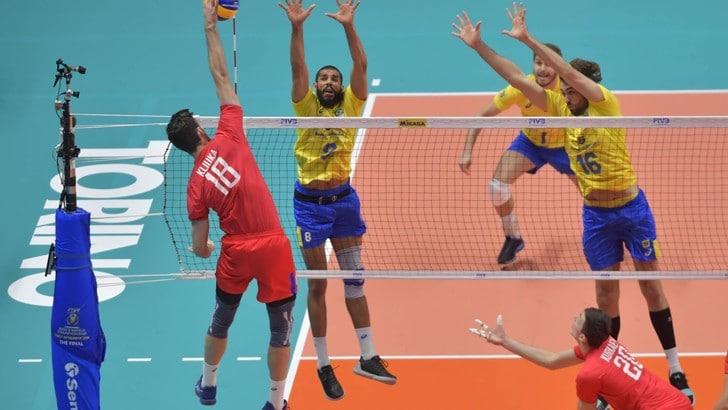 Volley: Mondiali 2018, Brasile all'inferno e ritorno, battuta la Russia in rimonta