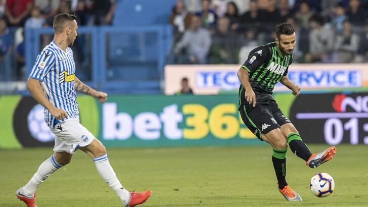 Serie A Spal, intervento al gomito per Kurtic