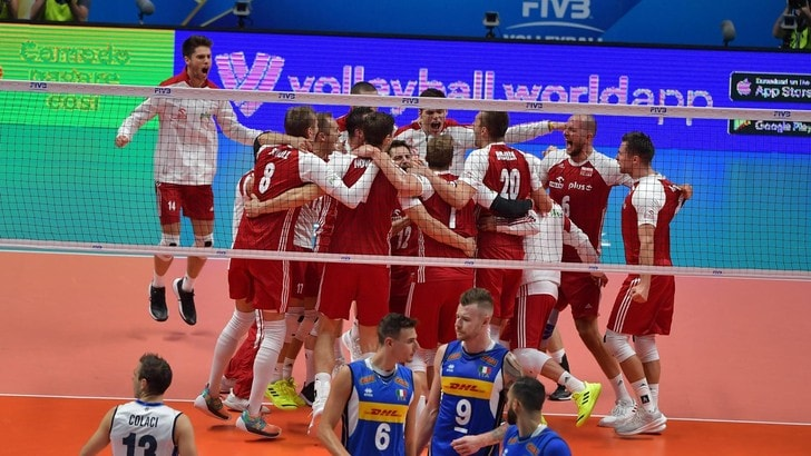 Volley: Mondiali 2018, l'Italia si arrende dopo un set, va avanti la Polonia