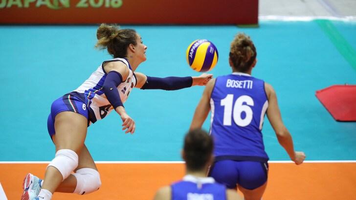 Volley: Mondiali Femminili, pèr l'Italia esordio vincente con la Bulgaria