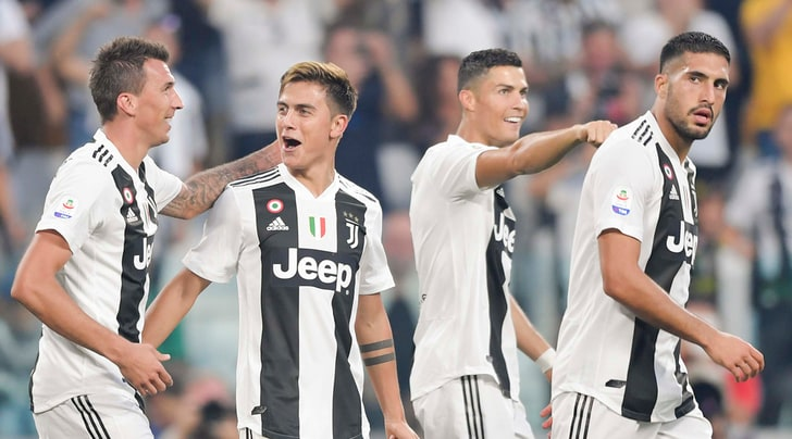 Juventus-Napoli 3-1: CR7 show, che doppietta Mandzukic!