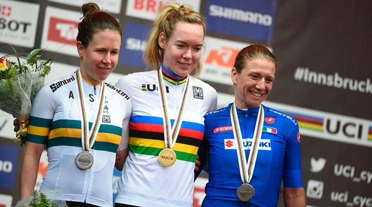 Mondiali ciclismo, bronzo per la Guderzo