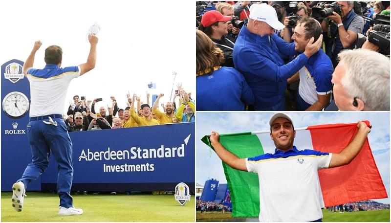 Golf, la gioia di Molinari: è lui Mr Ryder Cup