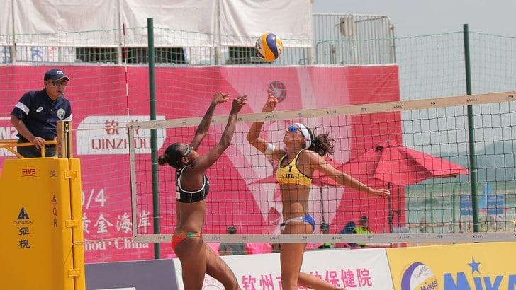 Beach Volley: Menegatti-Orsi Toth vincono la prima a Qinzhou