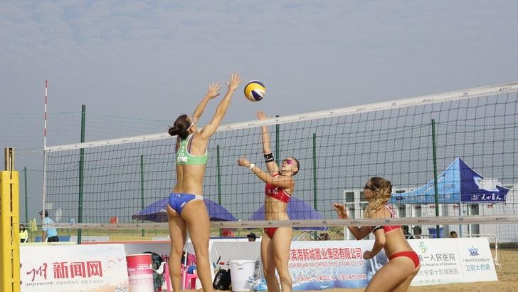 Beach Volley: a Qinzhou Menegatti-Orsi Toth volano agli ottavi
