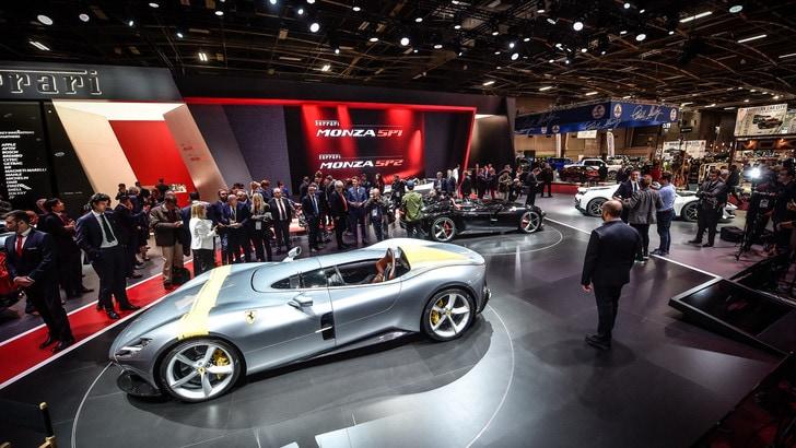 Ferrari Monza SP1 e SP2 con 488 Pista Spider: l'anima è racing