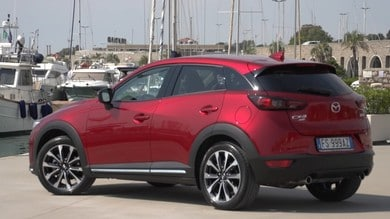 Mazda CX-3, tutte le sfumature del controllo
