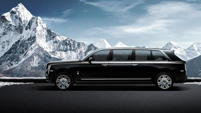 Klassen Rolls Royce Cullinan Limousine: foto