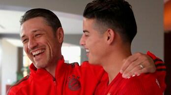 Come Allegri! James Rodriguez a Kovac: «Non siamo all'Eintracht qui»