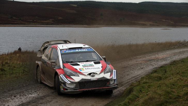 Rally, Galles: Tanak comanda dopo la prima giornata