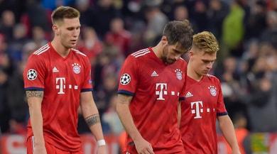 Bundesliga: crisi nera Bayern Monaco, è 0-3 per il M'Gladbach. Traballa Kovac