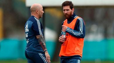 Sampaoli: «Messi ha sofferto come nessuno in Russia»